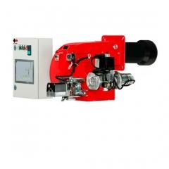 Двухступенчатые и модулируемые газовые горелки серии P и P/M большой мощности