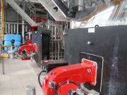 Паро-водогрейная котельная мощностью 5,6 МВт для ОАО «Чебаркульского молочного завода», г. Чебаркуль.