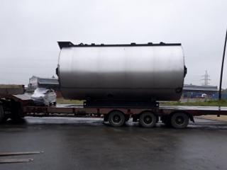 Отгрузка оборудования на молочный завод